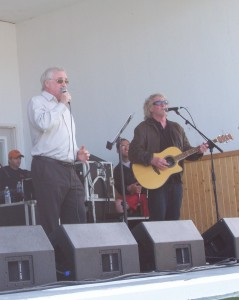 Jimmy and Derek at Ferryland 2010